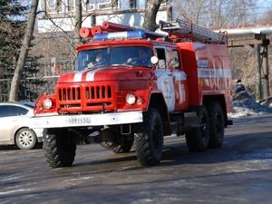 Крупный пожар уничтожил склад в Сергаче