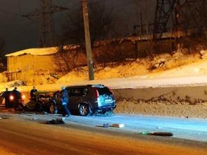 Два пассажира отечественной легковушки погибли в аварии в Советском районе