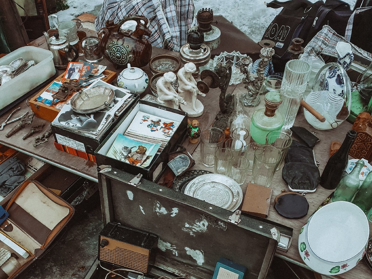 Блошиный рынок вернулся в сквер Свердлова - фото 1
