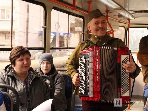 «Трамвай Победы» начал ходить по Нижнему Новгороду - фото 33