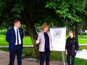 Детскую площадку в сквере «Сосны» попросили построить жители Нижнего Новгорода