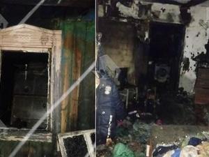 Пожар в частном доме унес жизни шестерых детей