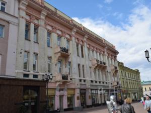 На Большой Покровской отремонтируют здание, где размещалась редакция «Нижегородской коммуны»