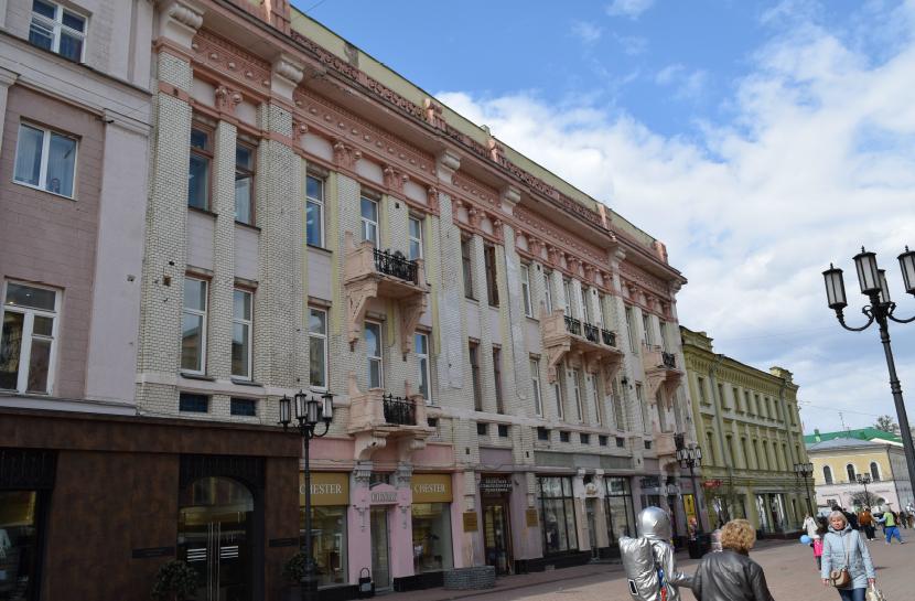 На Большой Покровской отремонтируют здание, где размещалась редакция «Нижегородской коммуны» - фото 1
