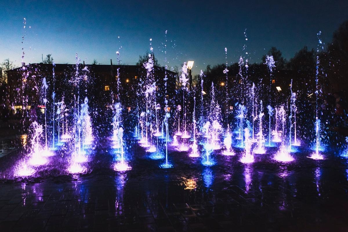 Первый в регионе пешеходный фонтан появился в Арзамасе - фото 1