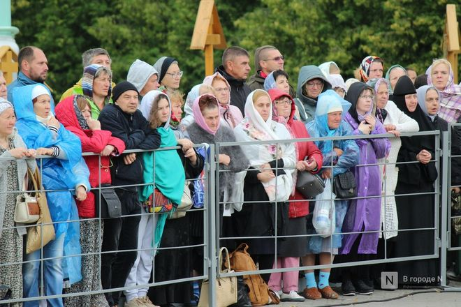 Патриарх Кирилл возглавил божественную литургию в Дивееве  - фото 18