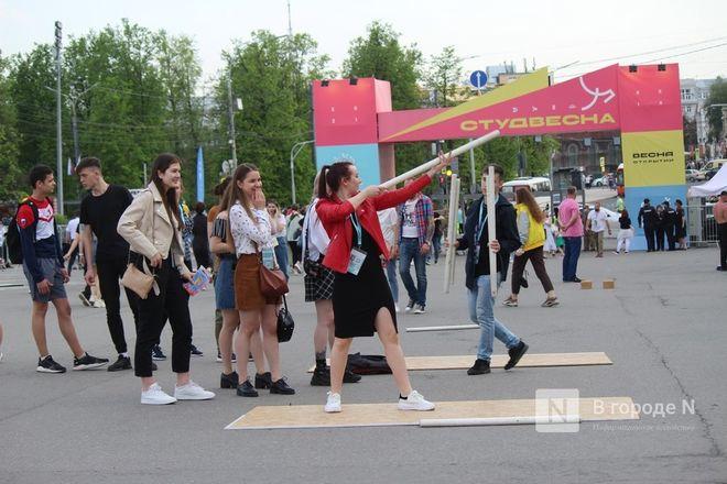 Молодость, дружба, творчество: как прошло открытие «Студенческой весны» в Нижнем Новгороде - фото 81