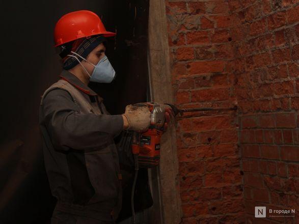 Инъекция для стен: как идет реставрация фасада нижегородской фабрики «Маяк» - фото 11
