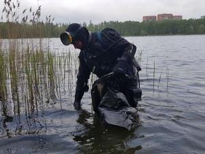 Водолазы очистили от мусора три озера в Нижнем Новгороде