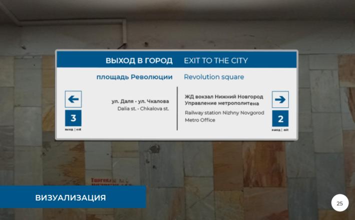 Систему навигации поменяют на четырех станциях нижегородского метро - фото 14