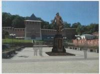 Эскиз памятника Петру I представил общественности нижегородский губернатор