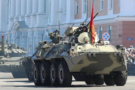 Парад в честь 73-й годовщины Победы прошел в Нижнем Новгороде (ФОТО)