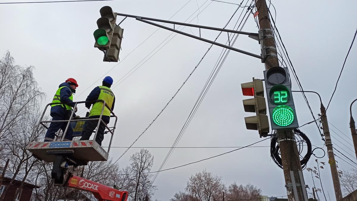 Изменен режим работы более 50 светофоров в Нижнем Новгороде - фото 1