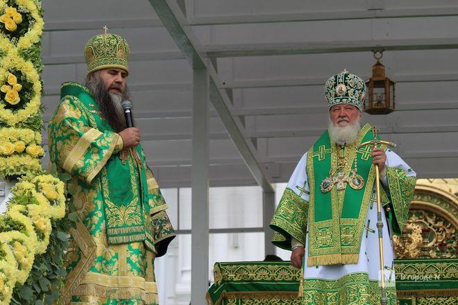 Патриарх Кирилл возглавил божественную литургию в Дивееве  - фото 33