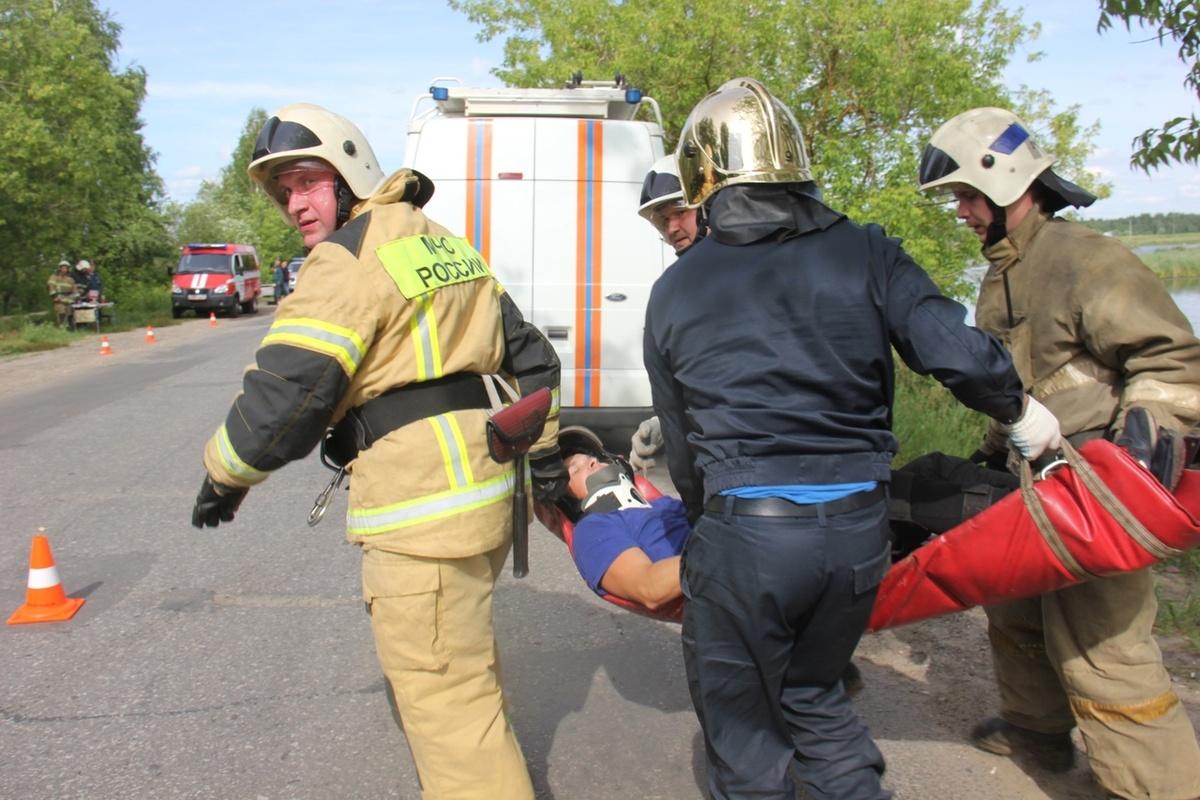 Ликвидацию последствий страшной аварии отработали Нижегородские спасатели - фото 1