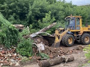 Крупную свалку строительного мусора ликвидировали на улице Черниговской