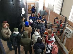 Делегация молодежного водного Европарламента посетила Слудинскую станцию в Нижнем Новгороде