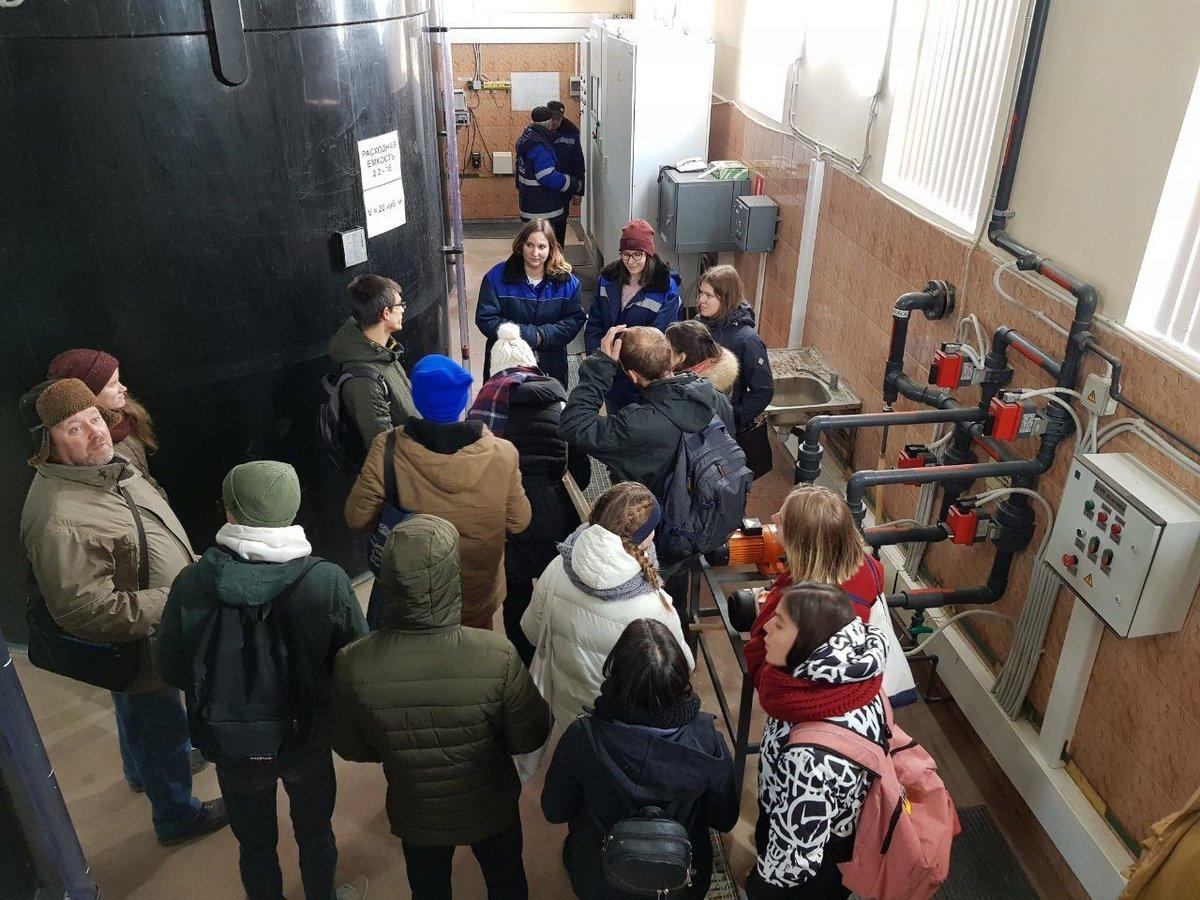 Делегация молодежного водного Европарламента посетила Слудинскую станцию в Нижнем Новгороде - фото 1