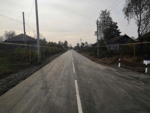 Ремонт дороги Субботино — Большая Уда завершился в Гагинском районе