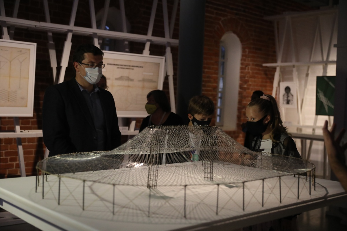 Выставка «Шухов. Формула архитектуры» открылась в Нижнем Новгороде - фото 1