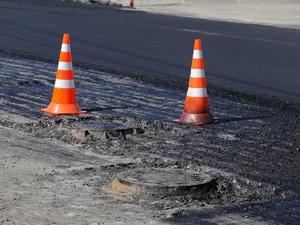 Дорогу в Первомайском районе отремонтировали по экономным технологиям