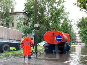Почти пять тысяч кубометров воды за сутки откачали с улиц Нижнего Новгорода