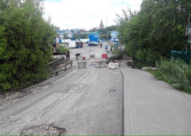Мост урадиорынка «Герц» введут вэксплуатацию доконца сентября