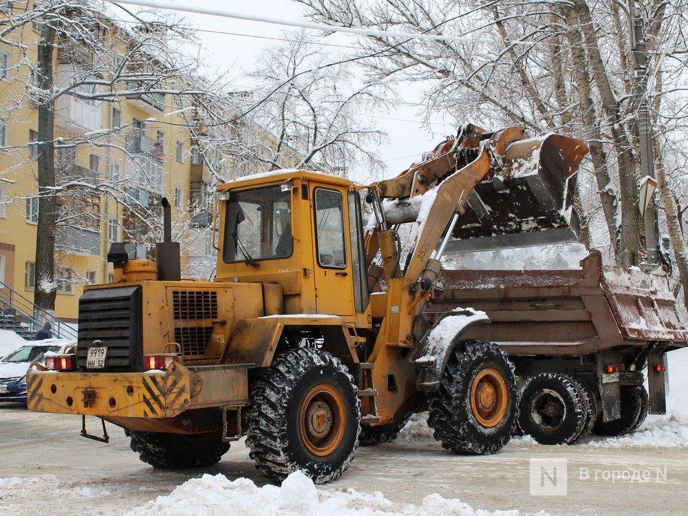 Более 300 машин убирают снег на нижегородских улицах - фото 1