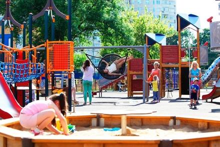 В Советском районе появится 14 детских площадок