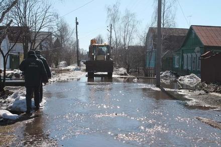 Почти 4,5 тысячи нижегородских домов могут быть подтоплены весенним паводком