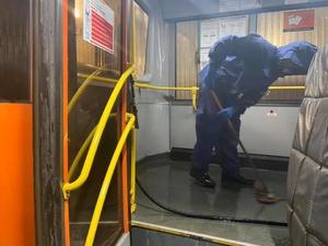 Как дезинфицируют нижегородские автобусы от коронавируса, показало региональное управление Роспотребнадзора