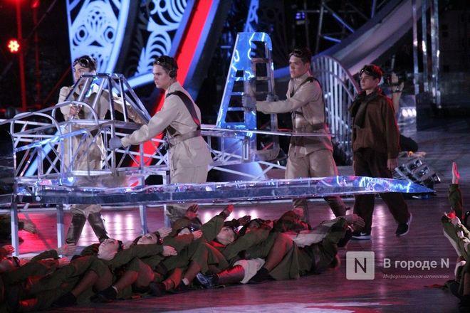 Огонь, вода и звезды эстрады: Как прошло гала-шоу 800-летия Нижнего Новгорода - фото 79