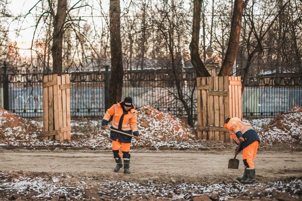 Благоустройство парка «Швейцария» в Нижнем Новгороде ведется в графике - фото 1