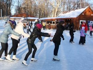 Каток открылся в парке культуры и отдыха Автозаводского района
