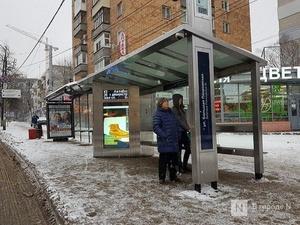 43 «умные» остановки начали показывать время прибытия нижегородского транспорта