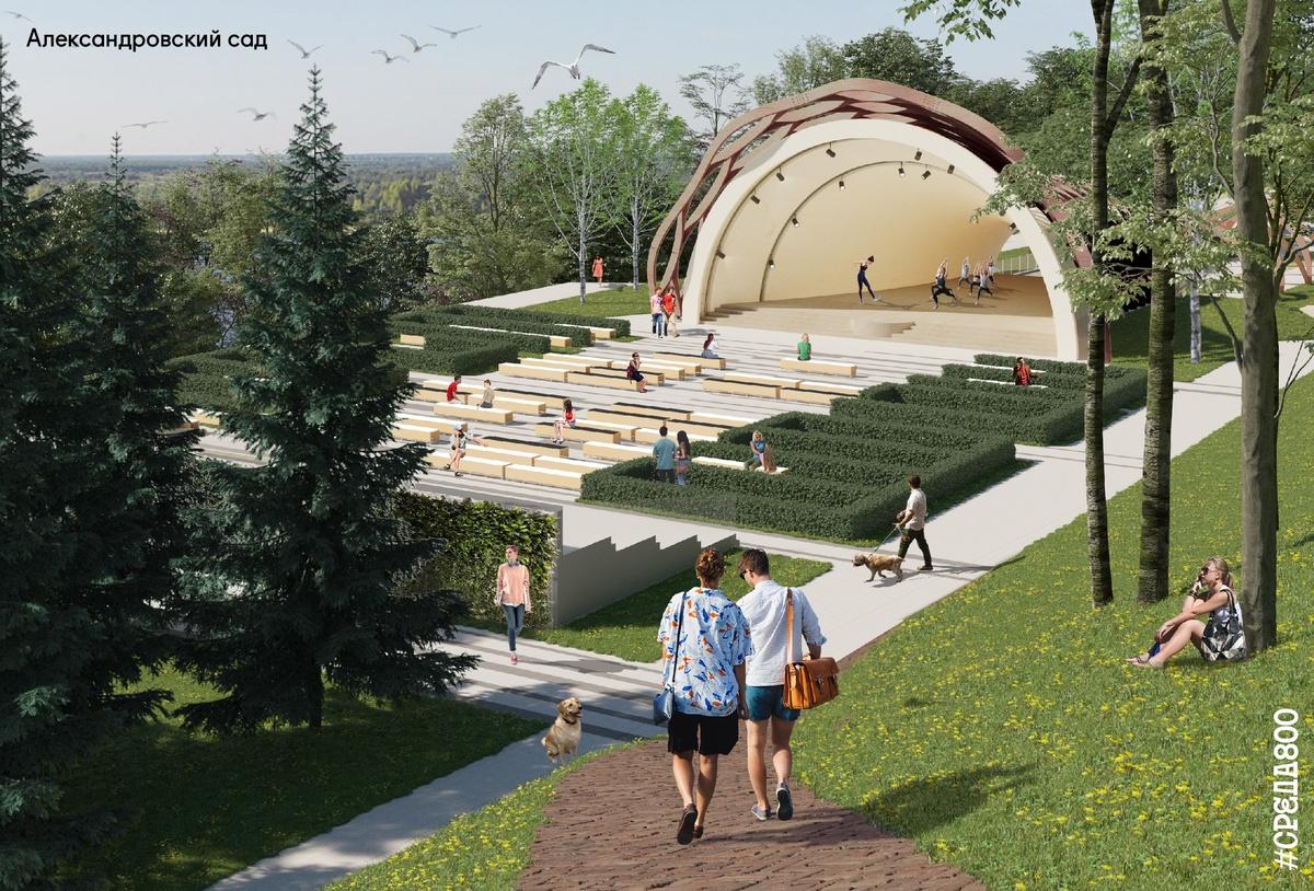 Возродить легендарную ракушку и задействовать подземелье планируется в Александровском саду - фото 1