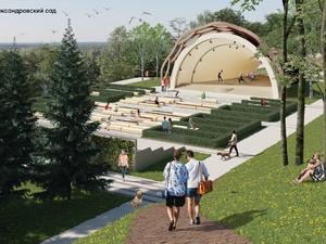 Возродить легендарную ракушку и задействовать подземелье планируется в Александровском саду