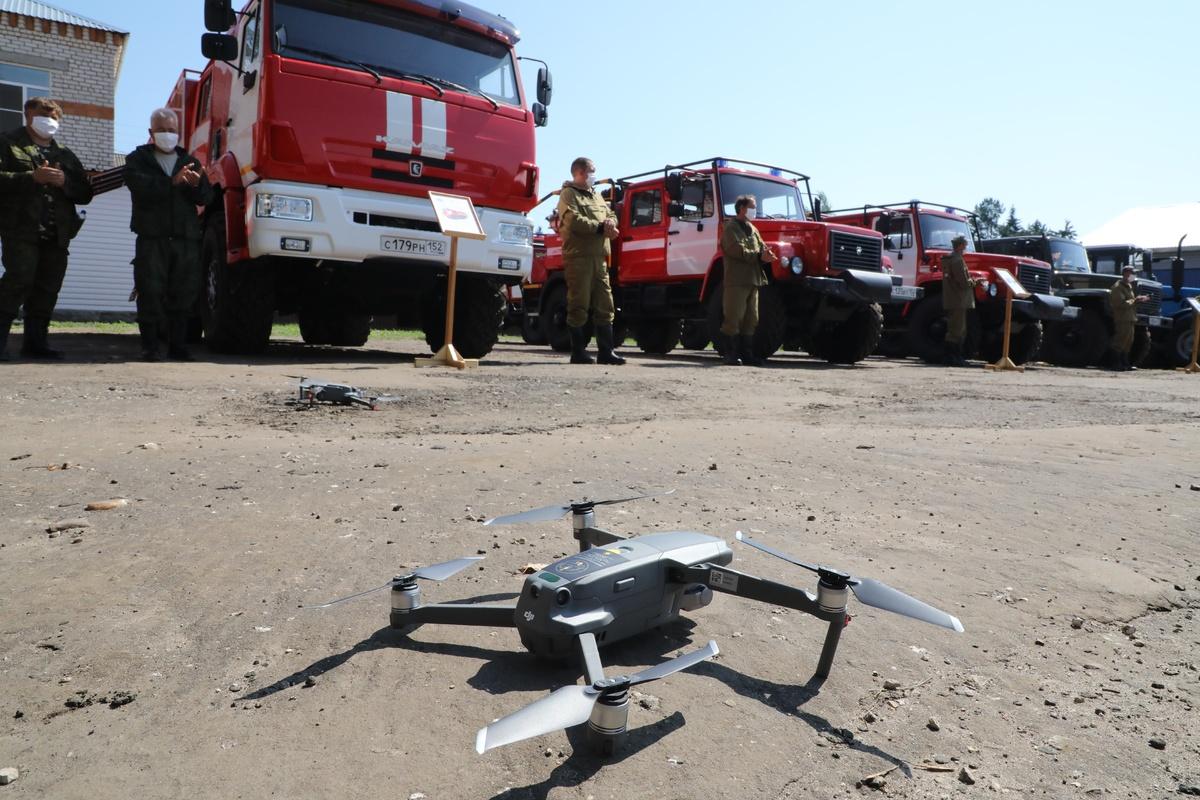 Площадь лесных пожаров в Нижегородской области составила 3,7 га - фото 1