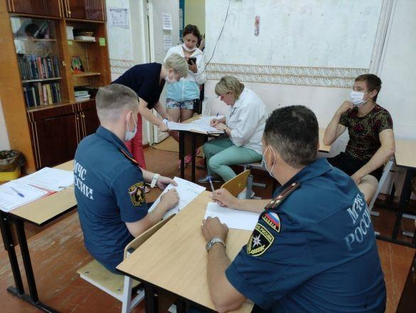 Психологи работают с жильцами пострадавшего от взрыва дома в Сормове - фото 3