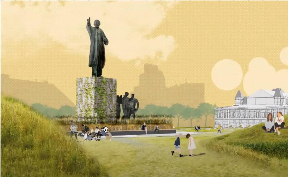 Ленин во ржи и навесы с подогревом: масштабная реконструкция ждет Нижегородскую ярмарку и прилегающие территории - фото 2