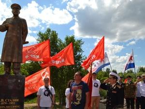 Борчанин избежал наказания за установку памятника Сталину на своем участке