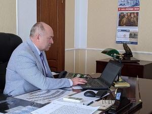 Евгений Лебедев дистанционно проголосовал за поправки в Конституцию РФ