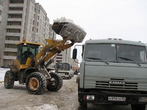 С нижегородских улиц вывезли 15 тысяч кубометров снега