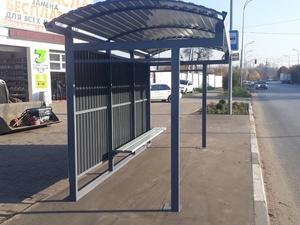 Новая автобусная остановка появилась в Сормове