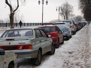 Обеспеченность парковочными местами в Нижнем Новгороде составляет всего 36%
