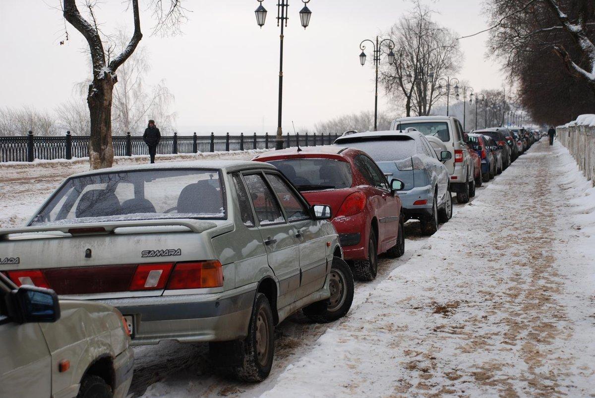 Обеспеченность парковочными местами в Нижнем Новгороде составляет всего 36% - фото 1