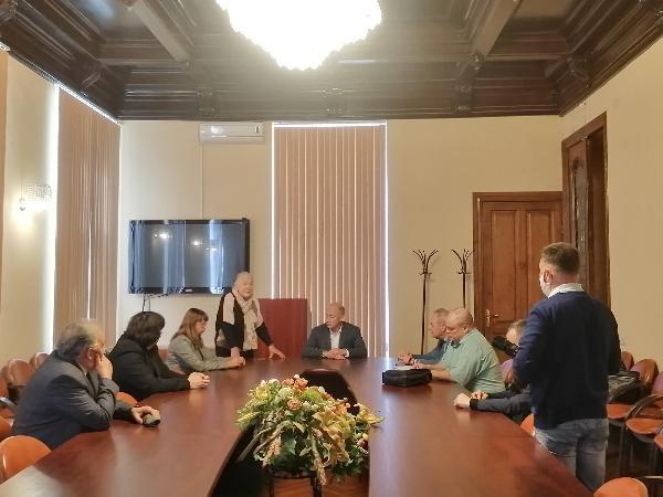 Правнук инженера Шухова посетил ННГАСУ - фото 1