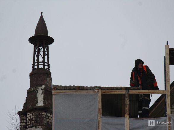 Инъекция для стен: как идет реставрация фасада нижегородской фабрики «Маяк» - фото 31