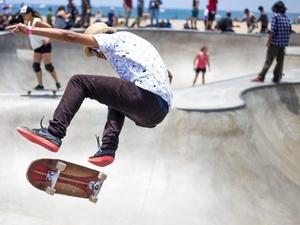 В парке Пушкина появится скейт-парк