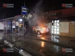 Нижегородского полицейского сбил автомобиль в Сочи